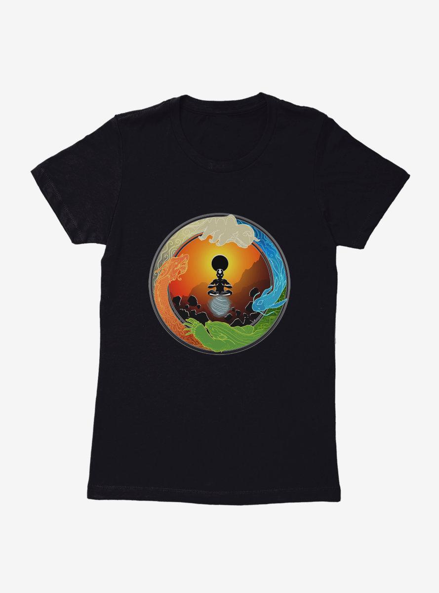 Avatar: The Last Airbender Eclipsing Balance Womens T-Shirt