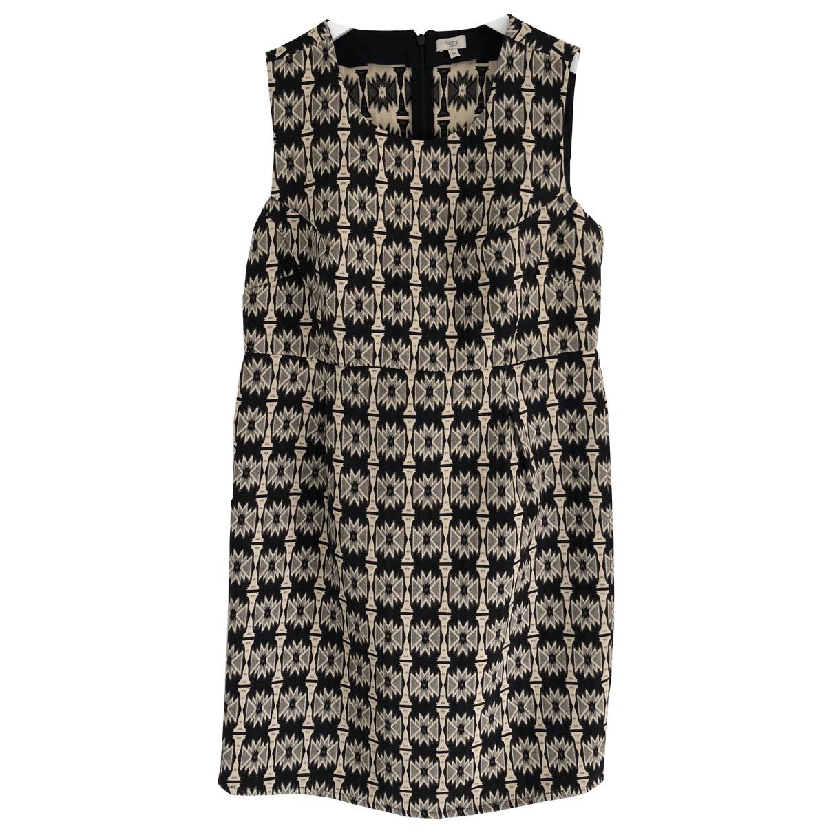 Hoss Intropia - Robe   pour femme en coton - noir