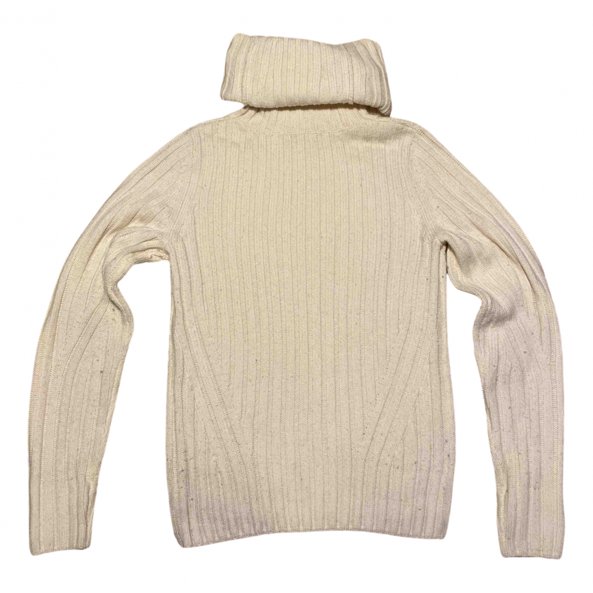 Dries Van Noten \N Pullover in  Weiss Wolle