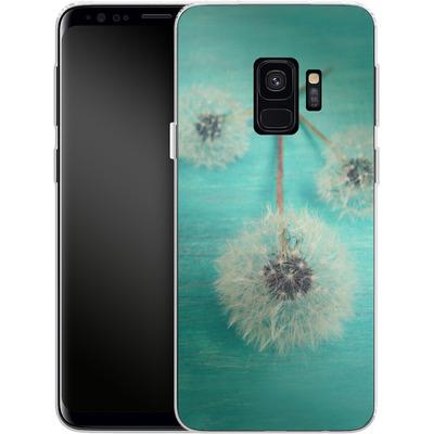 Samsung Galaxy S9 Silikon Handyhuelle - Three Wishes von Joy StClaire