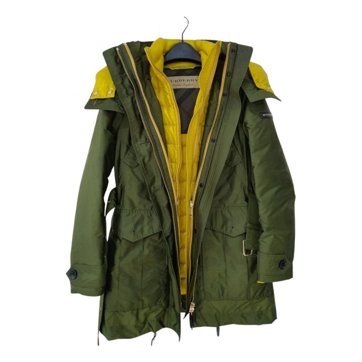 Burberry - Manteau   pour femme - vert