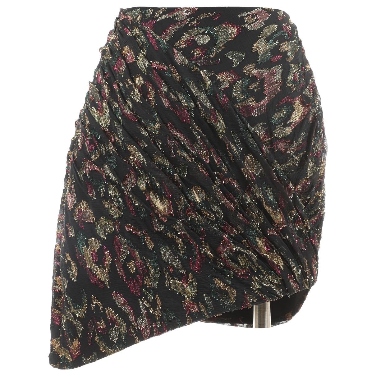 Saint Laurent - Jupe   pour femme en laine - noir