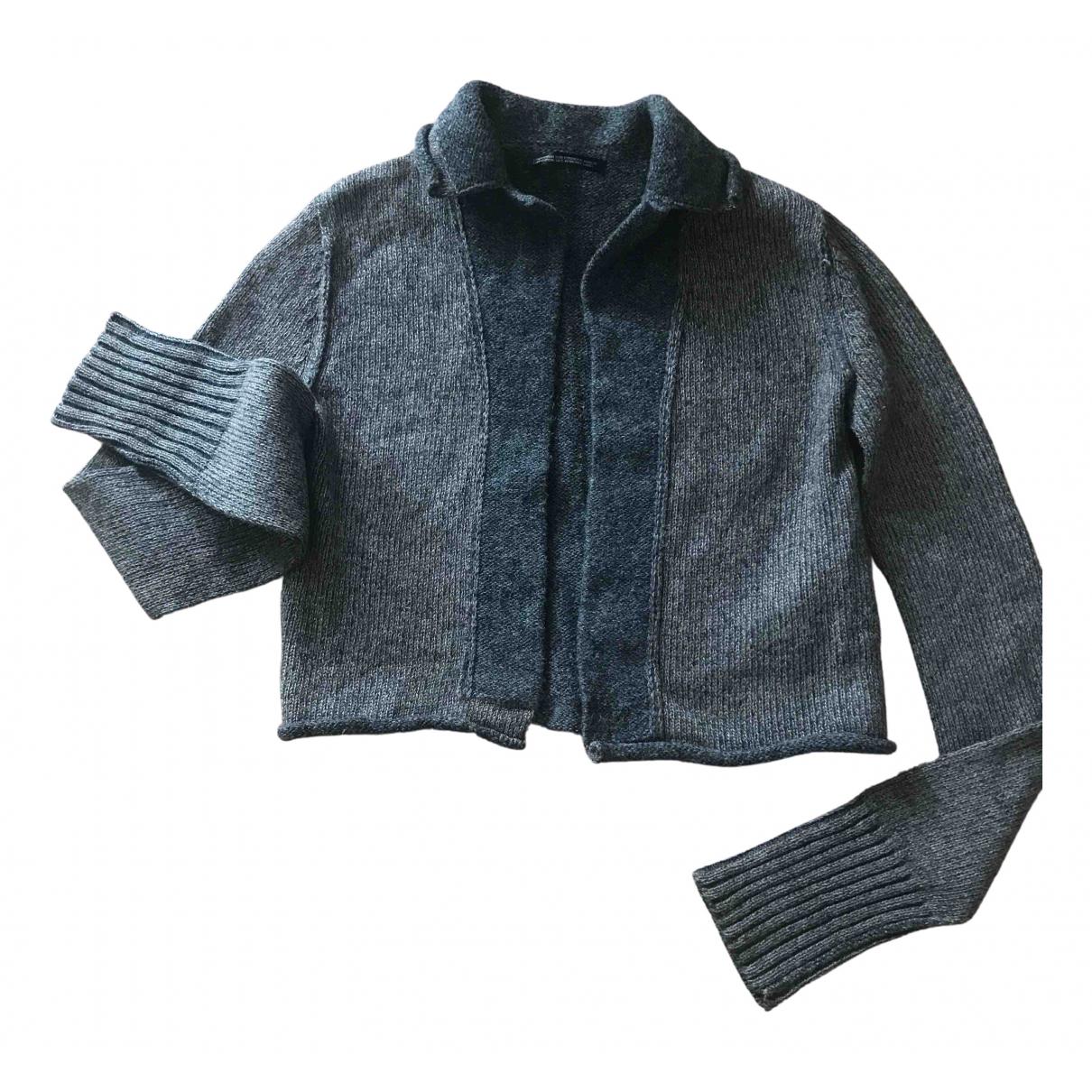 Ys - Pull   pour femme en laine - marron