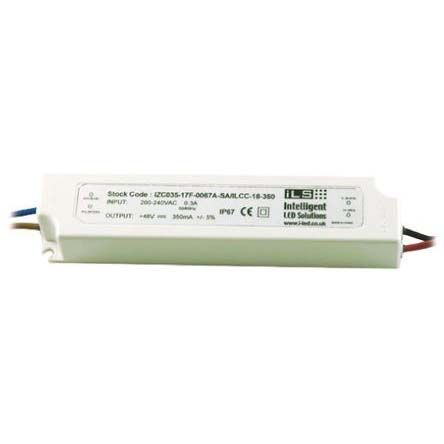 Intelligent LED Solutions ILS Constant Current LED Driver 18W 6 → 48V