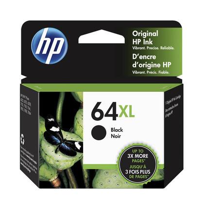 HP 64XL N9J92AN Original Black Ink Cartridge High Yield