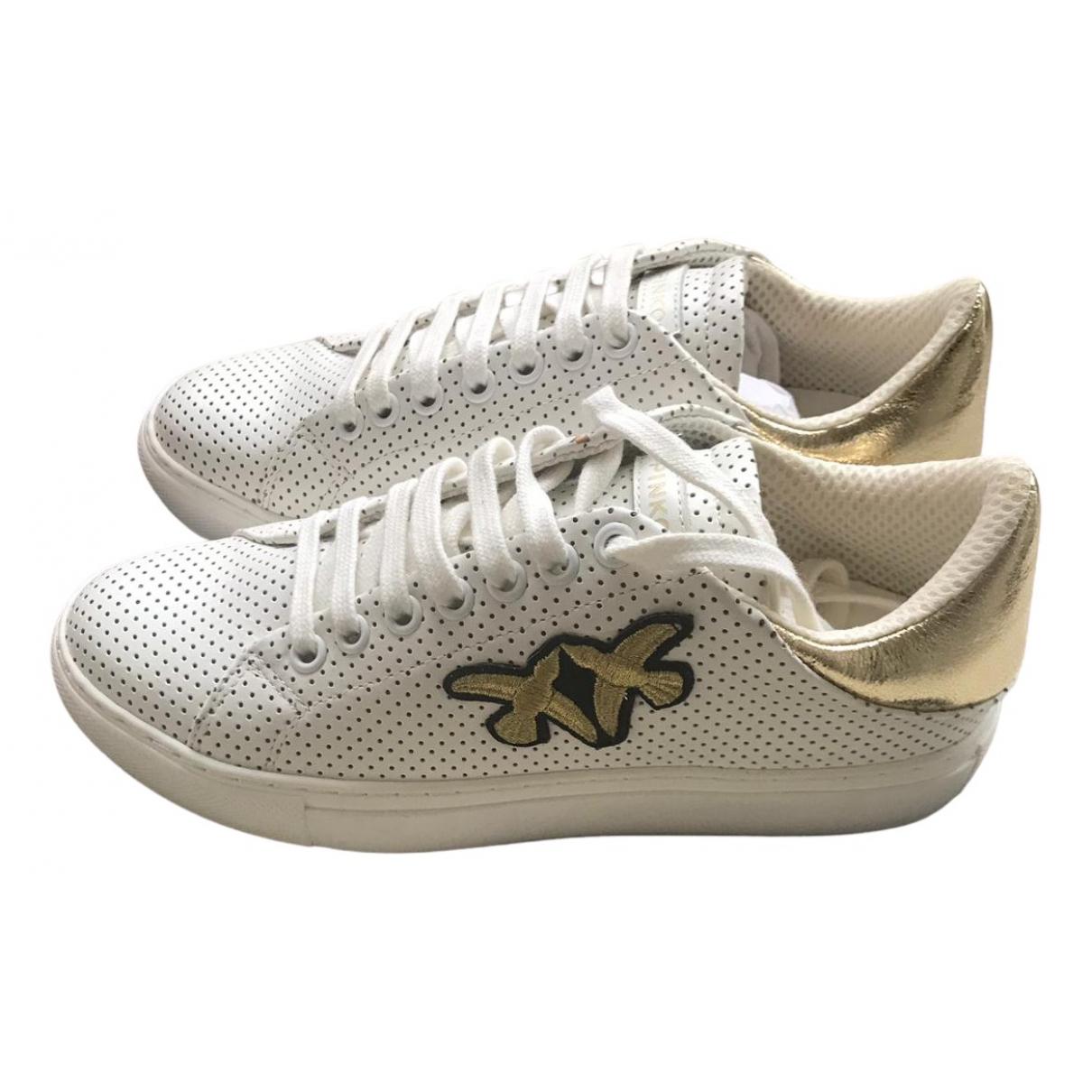Pinko \N Sneakers in  Weiss Leder