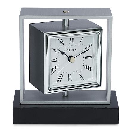 Citizen White Table Clock-Cc1007, One Size , No Color Family