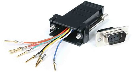 Startech Modular Adapter 85mm, Male D-Sub to Female RJ-45, 9 Ways, Serial Cable Assembly