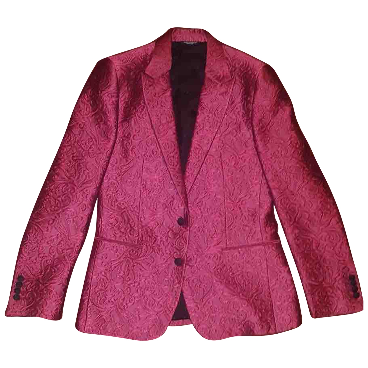 Dolce & Gabbana \N Anzuege in  Rosa Polyester