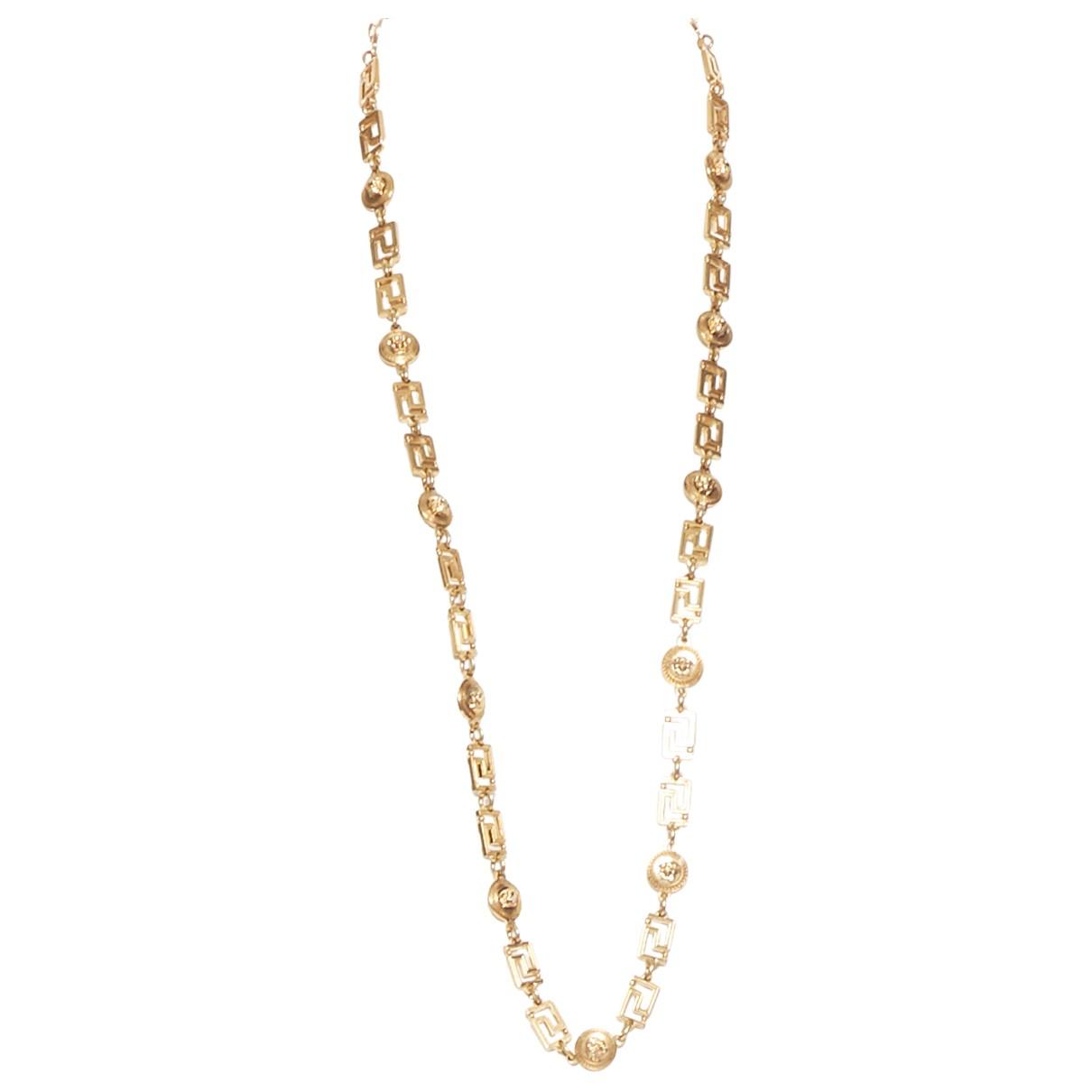Versace \N Schmuckstuecke in  Gold Metall