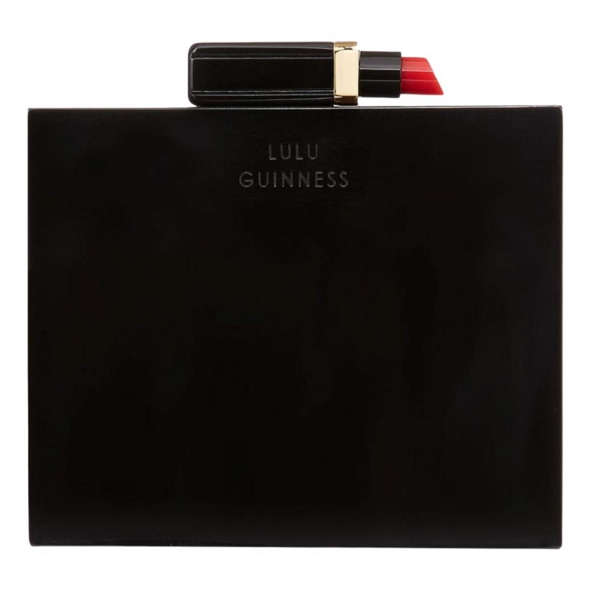Bolsos clutch en Plastico Negro Lulu Guinness
