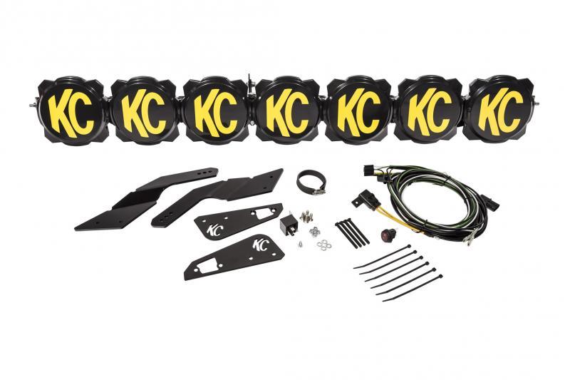 KC HiLites Gravity LED Pro6 7-Light 45