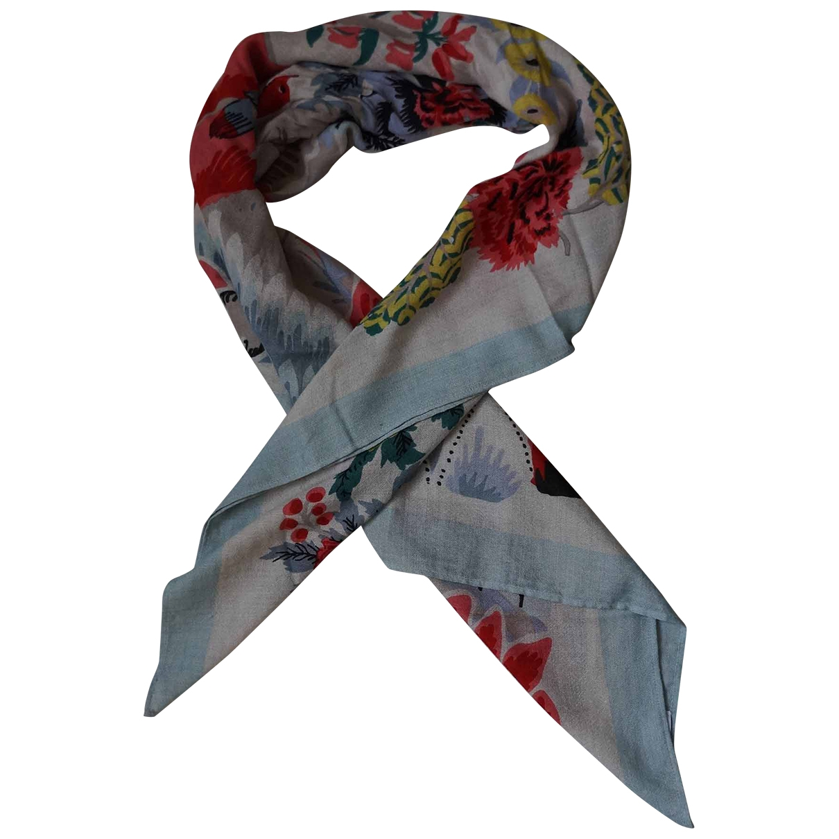 Eric Bompard \N Multicolour Cashmere scarf for Women \N