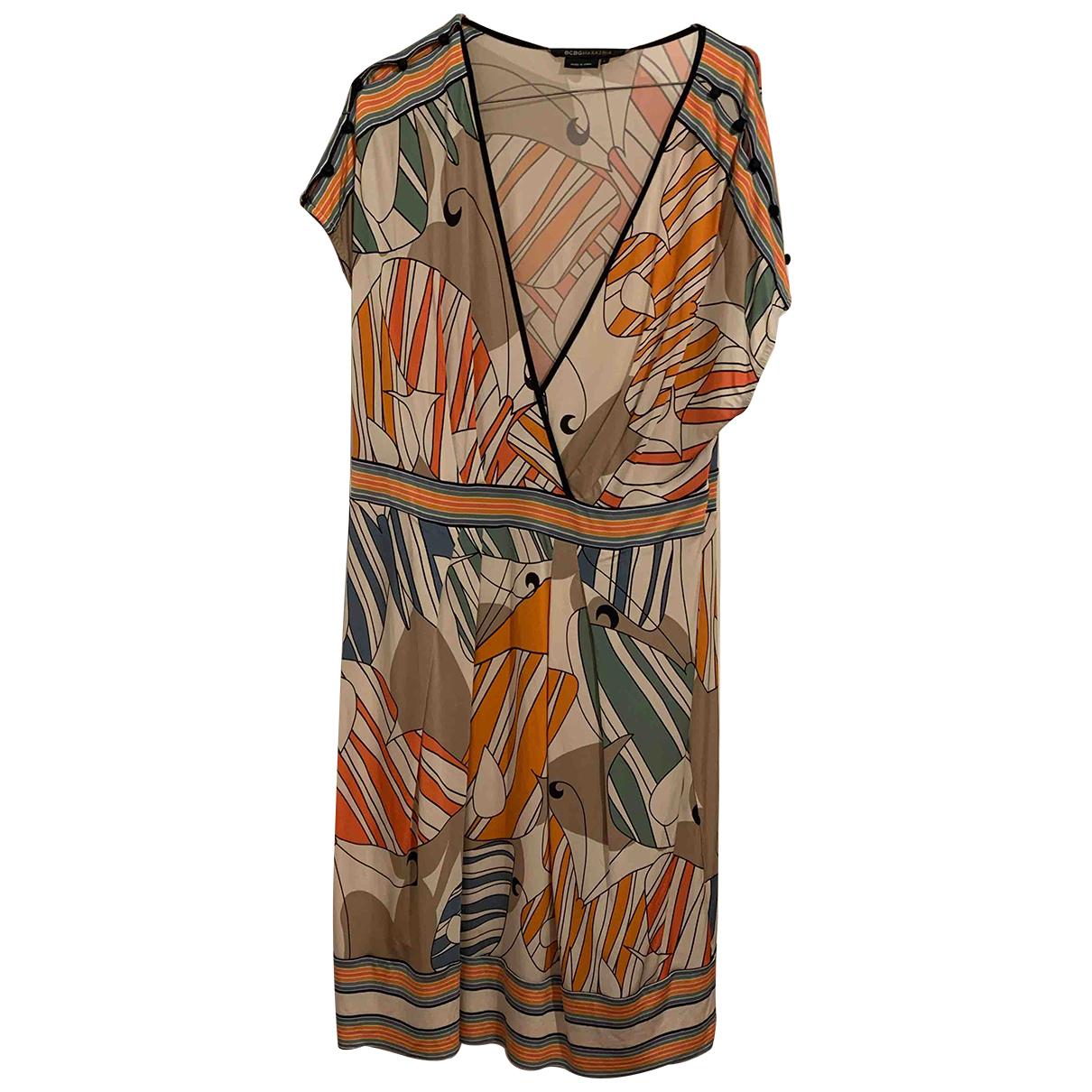 Bcbg Max Azria \N Kleid in  Bunt Synthetik