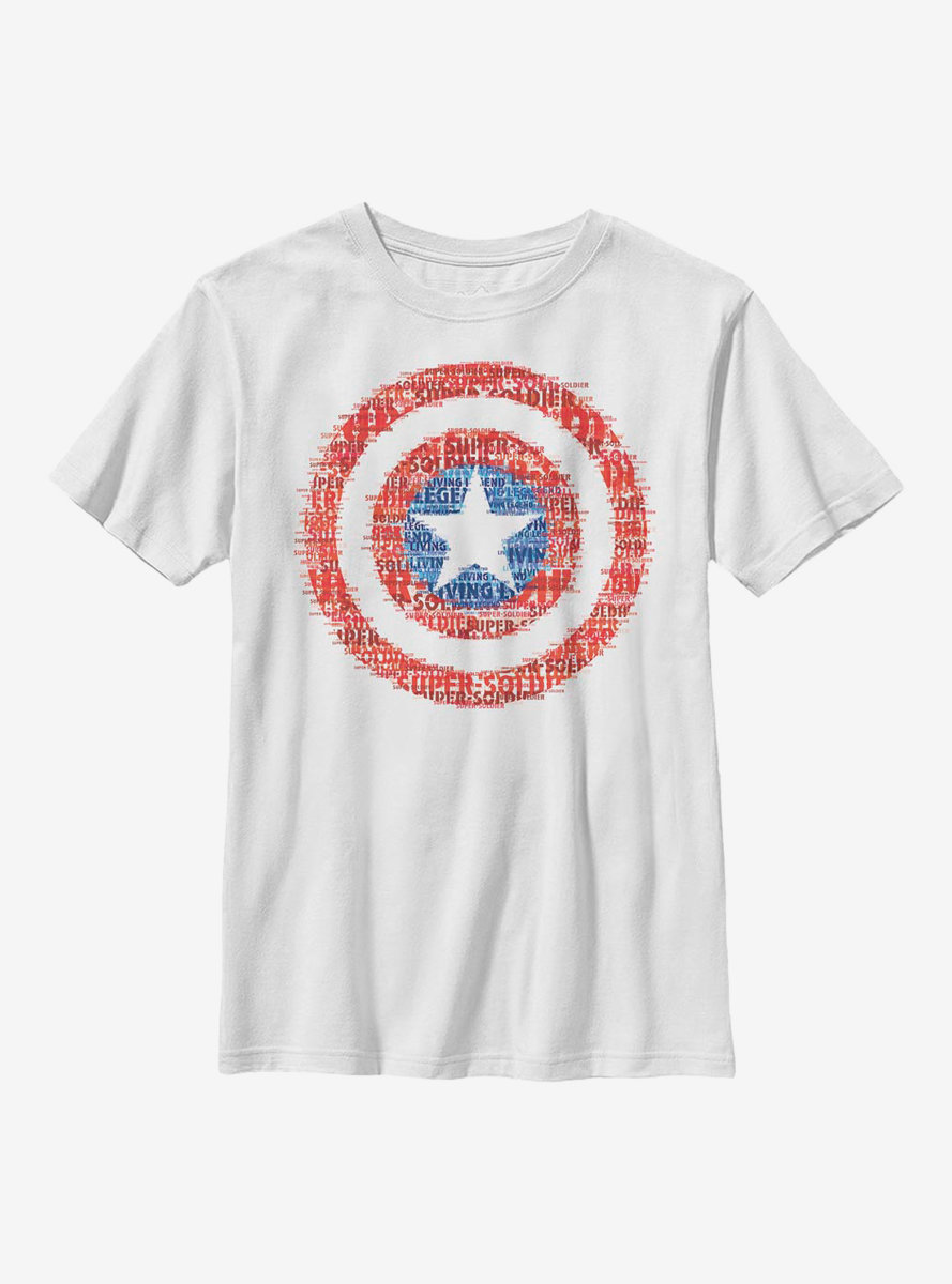 Marvel Captain America Super Soldier Youth T-Shirt