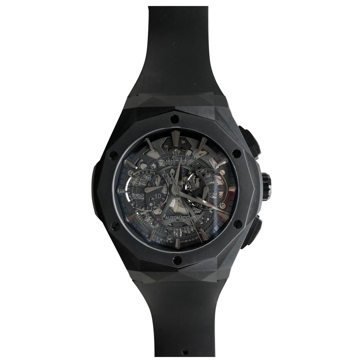 Hublot Classic Fusion Uhr in  Schwarz Keramik