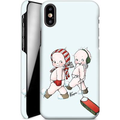 Apple iPhone X Smartphone Huelle - Winter Kewpies von Kewpie®