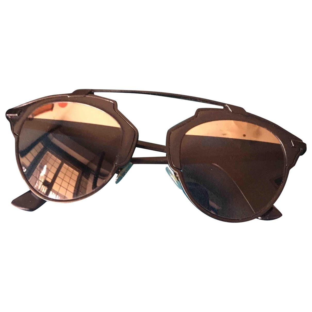 Dior Homme So Real Black Metal Sunglasses for Men \N