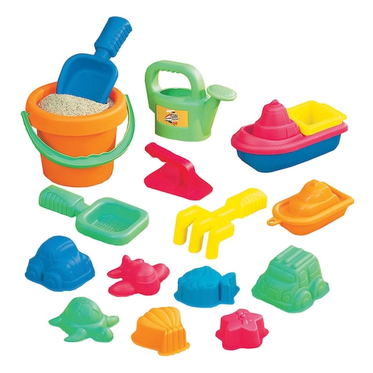 15-Piece Toddler Sand Assortment By Small World Toys | Michaels®