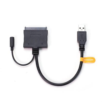Adaptateur SSD de pilote de disque dur USB 3.0 vers SATA 22 broches de 2,5 et 3,5 pouces - Pour 2.5