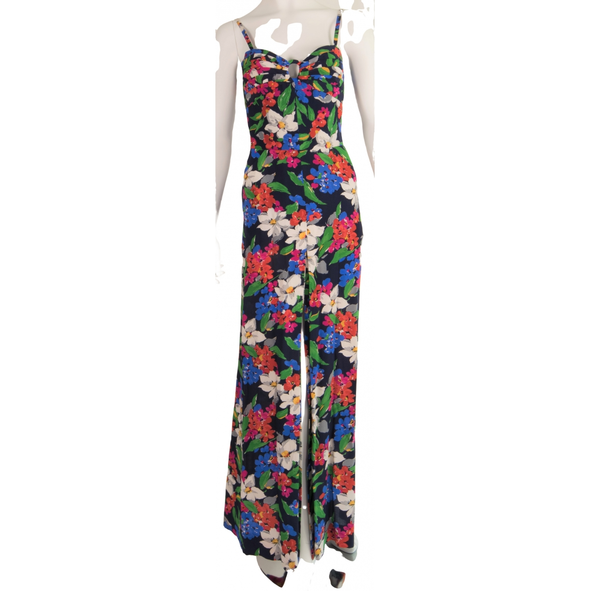 Non Signé / Unsigned \N Multicolour Silk dress for Women 40 IT