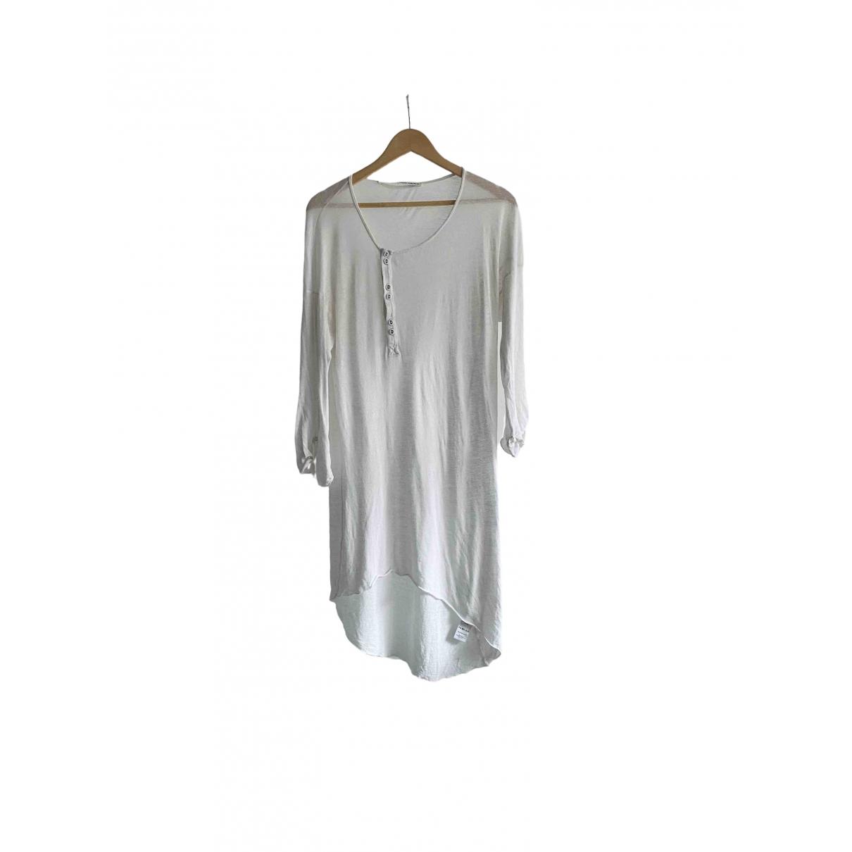 Isabel Benenato \N T-Shirts in  Weiss Baumwolle