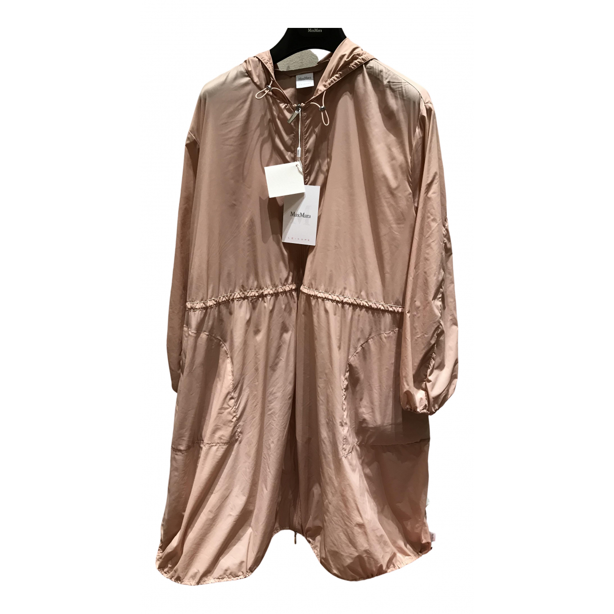 Max Mara \N Pink coat for Women XS International
