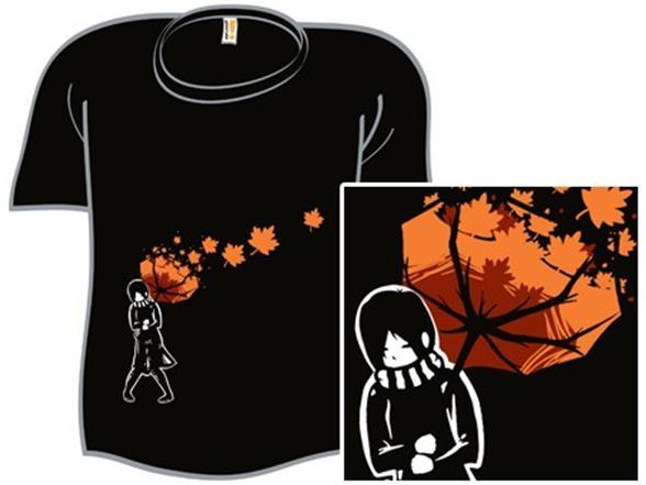 Autumn Breeze T Shirt