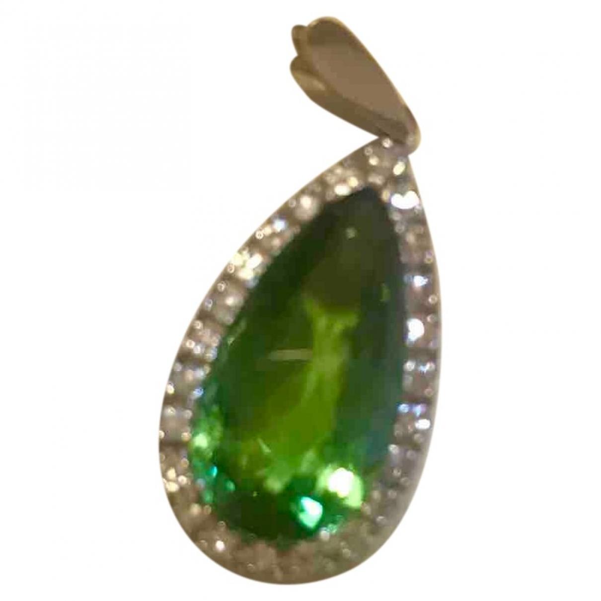 - Pendentif   pour femme en metal - vert