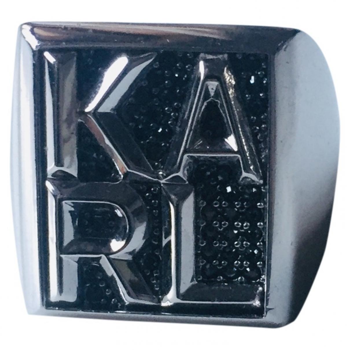 Karl Lagerfeld - Bague   pour femme en metal - argente