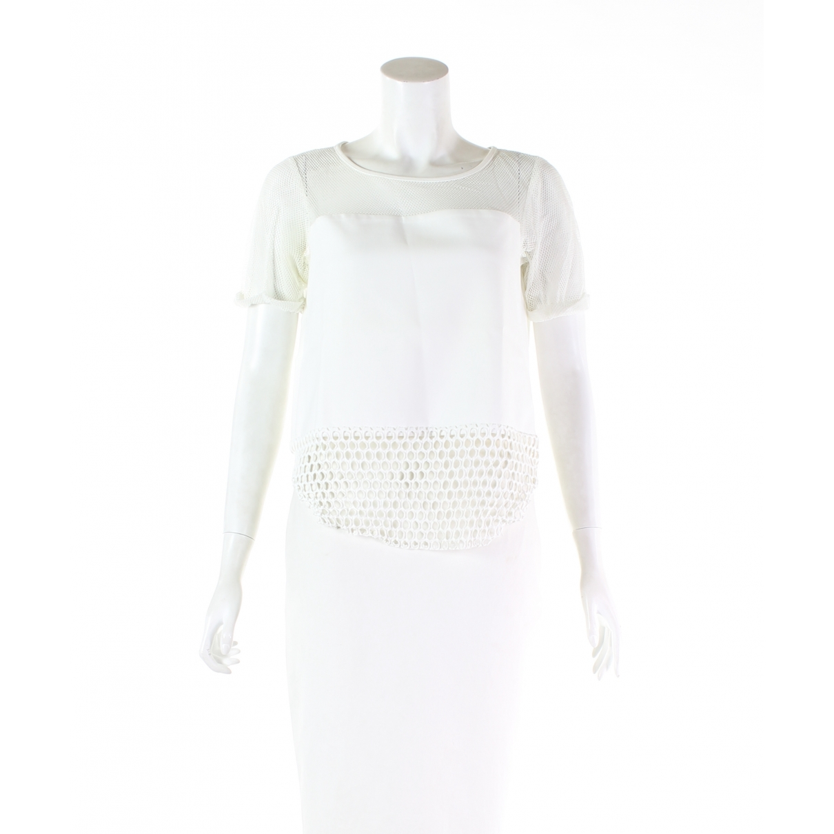 Elizabeth And James \N Top in  Weiss Polyester