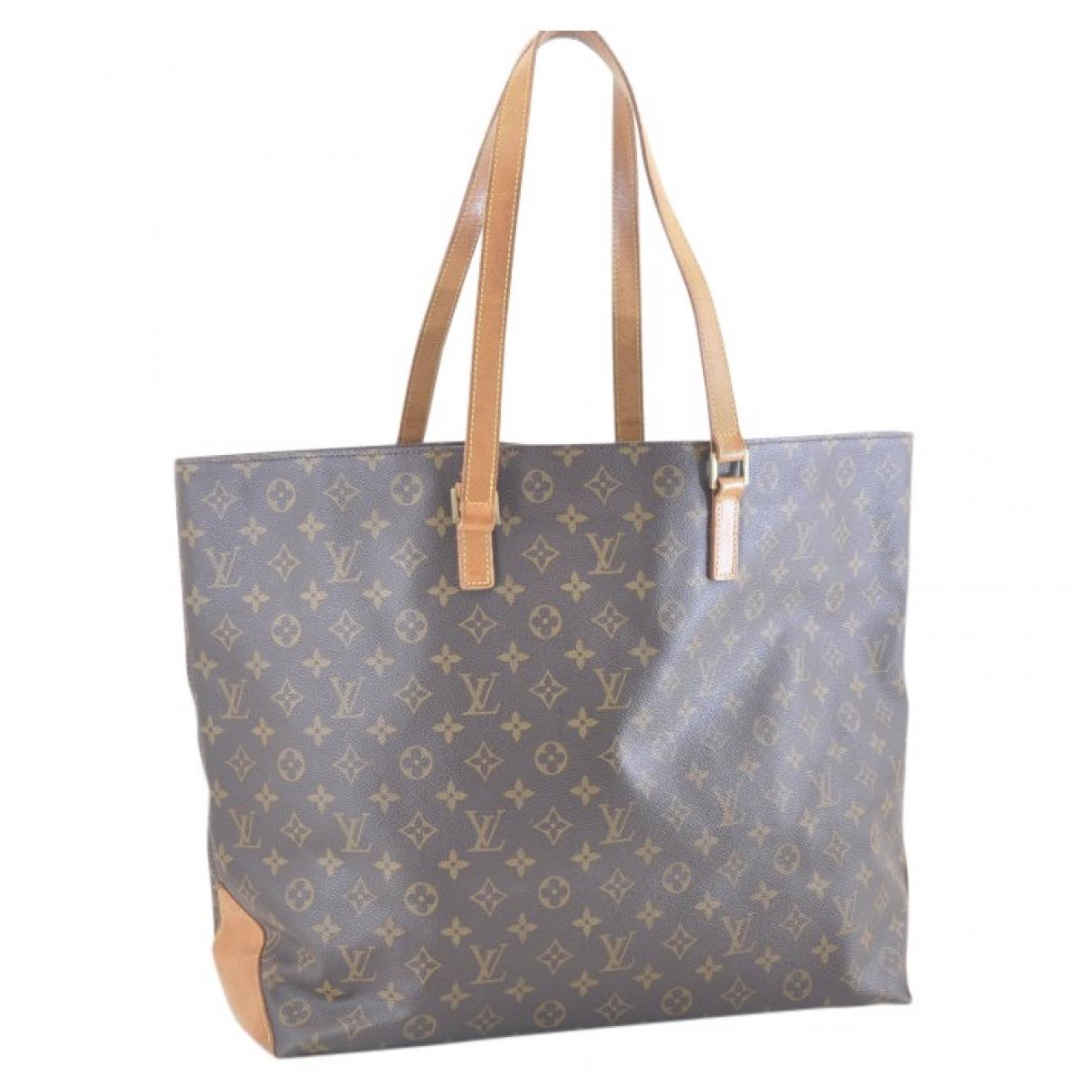 Louis Vuitton - Sac a main Alto pour femme en toile - marron