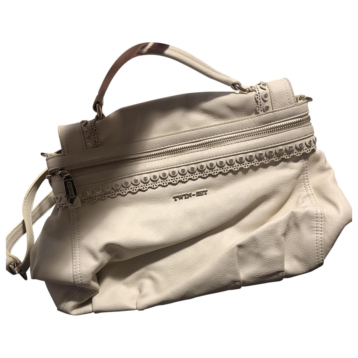Twin Set \N Handtasche in Leder
