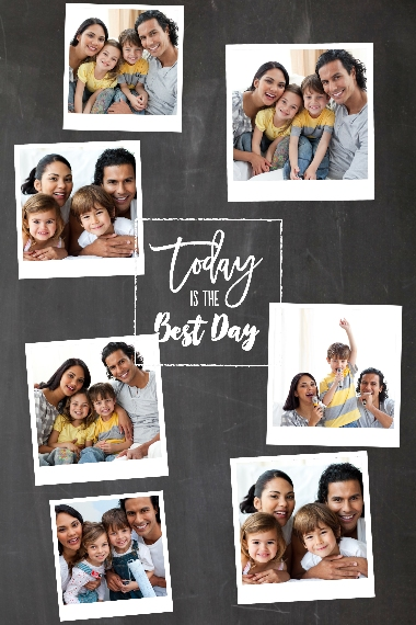 Everyday 24x36 Adhesive Poster, Home Décor -Best Day Ever