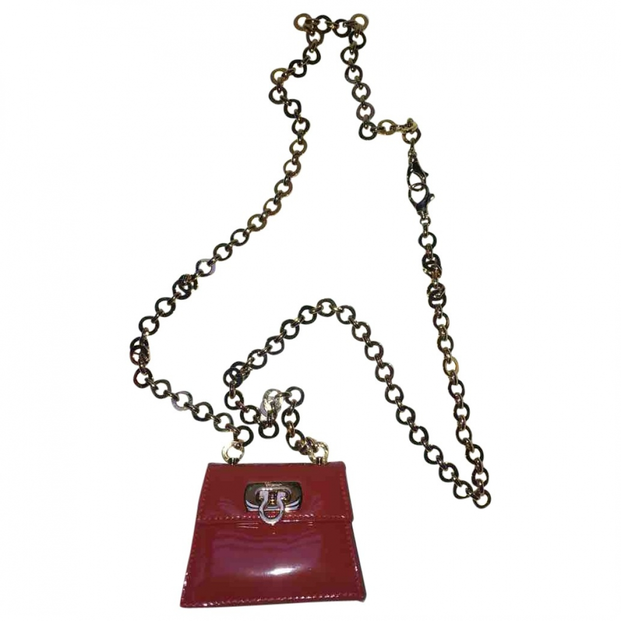 Salvatore Ferragamo \N Handtasche in Lackleder