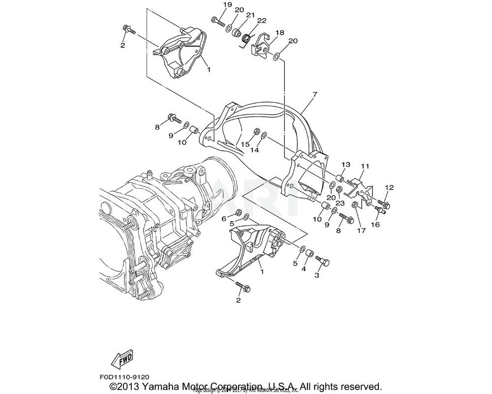 Yamaha OEM 90508-14M43-00 SPRING, TORSION   (USA)