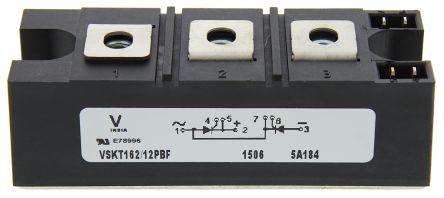 Vishay , VS-VSKT162/12PBF, Dual Thyristor Module, IGBT, 160A 1200V, 7-Pin INT-A-PAK