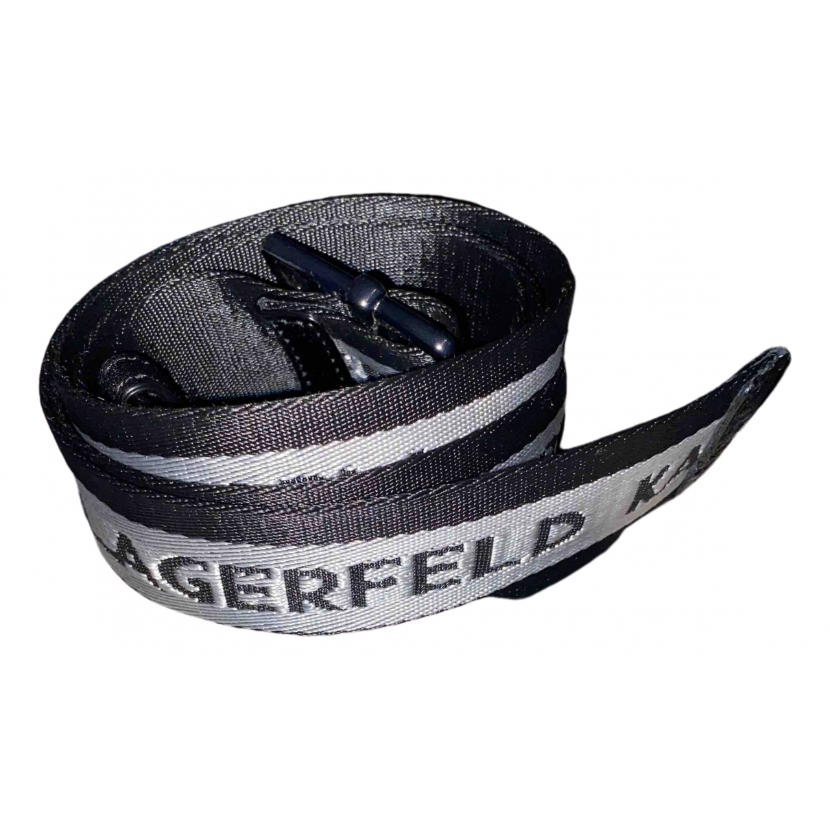 Karl Lagerfeld \N Black belt for Women 75 cm