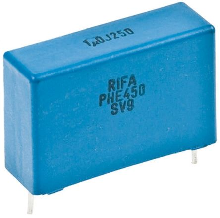 KEMET 47nF Polypropylene Capacitor PP 250 V ac, 400 V dc ±5% Tolerance Through Hole PHE450 Series (5)