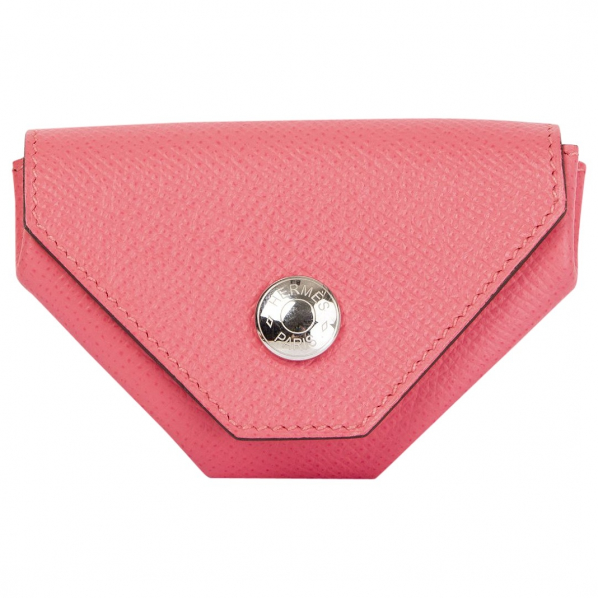 Hermès 24 Pink Leather Purses, wallet & cases for Women \N