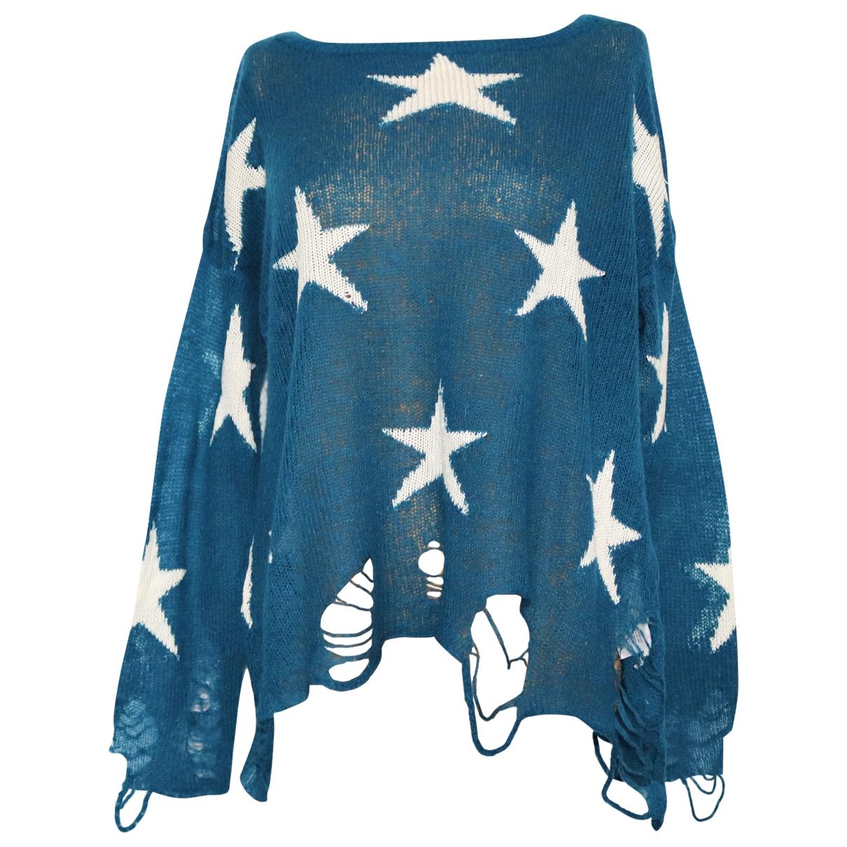 Wildfox \N Blue Wool Knitwear for Women XS International