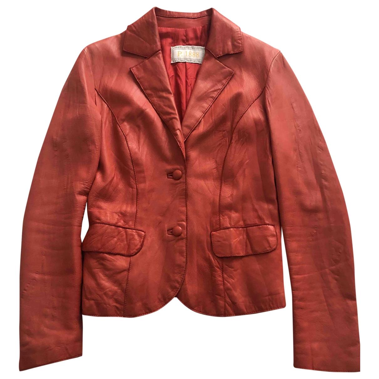 - Veste   pour femme en cuir