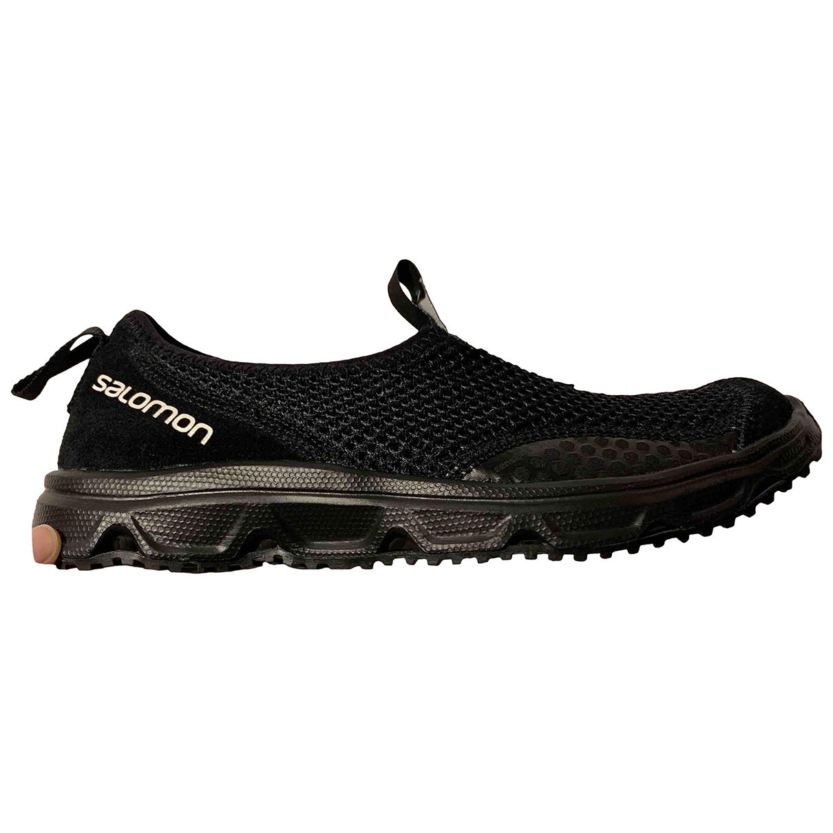 Salomon N Black Cloth Trainers for Women 4.5 UK