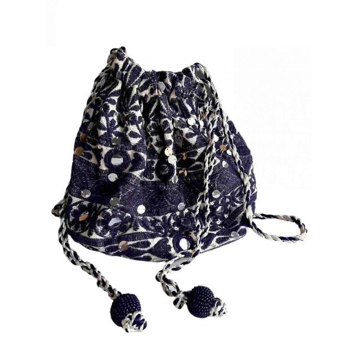 Star Mela \N Handtasche in  Blau Baumwolle