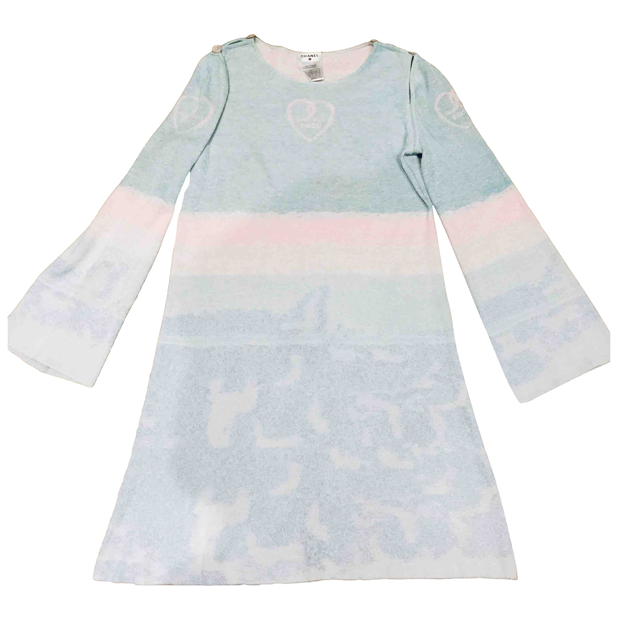 Chanel - Robe   pour femme - multicolore