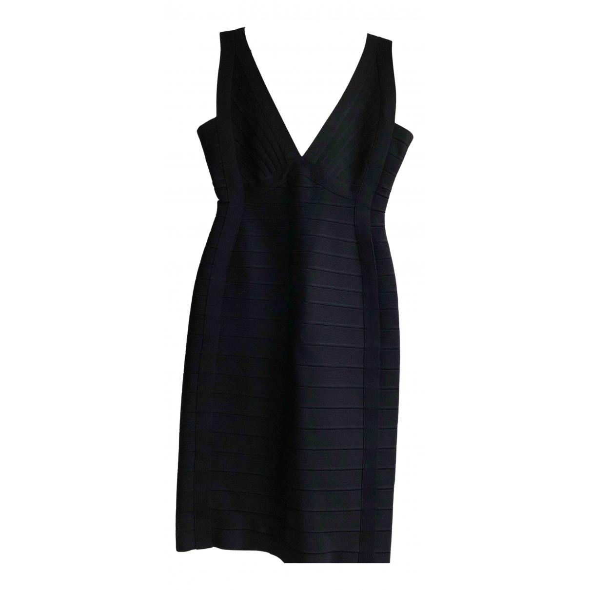 Herve Leger N Black dress for Women 8 UK