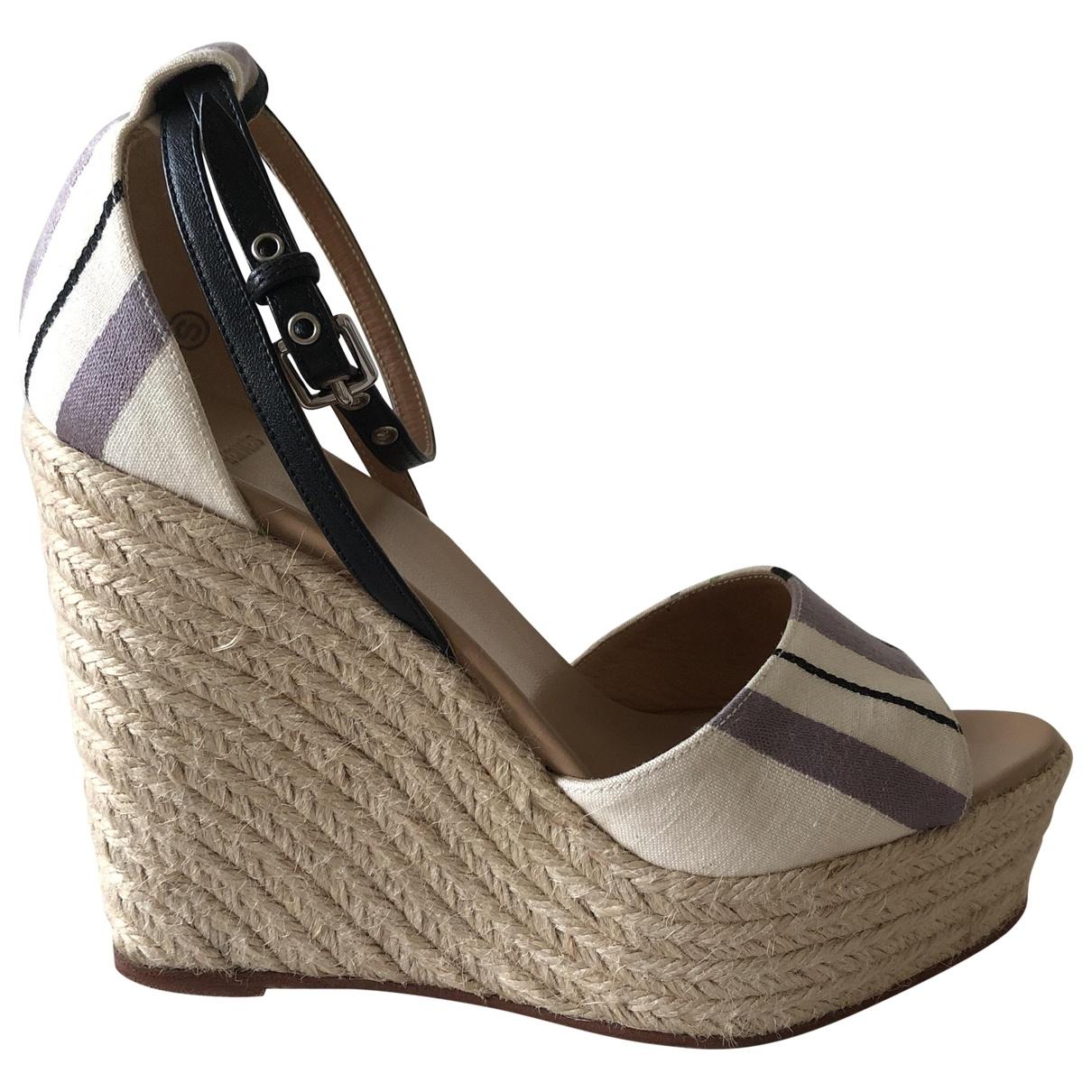 Hermès \N Cloth Espadrilles for Women 39 EU