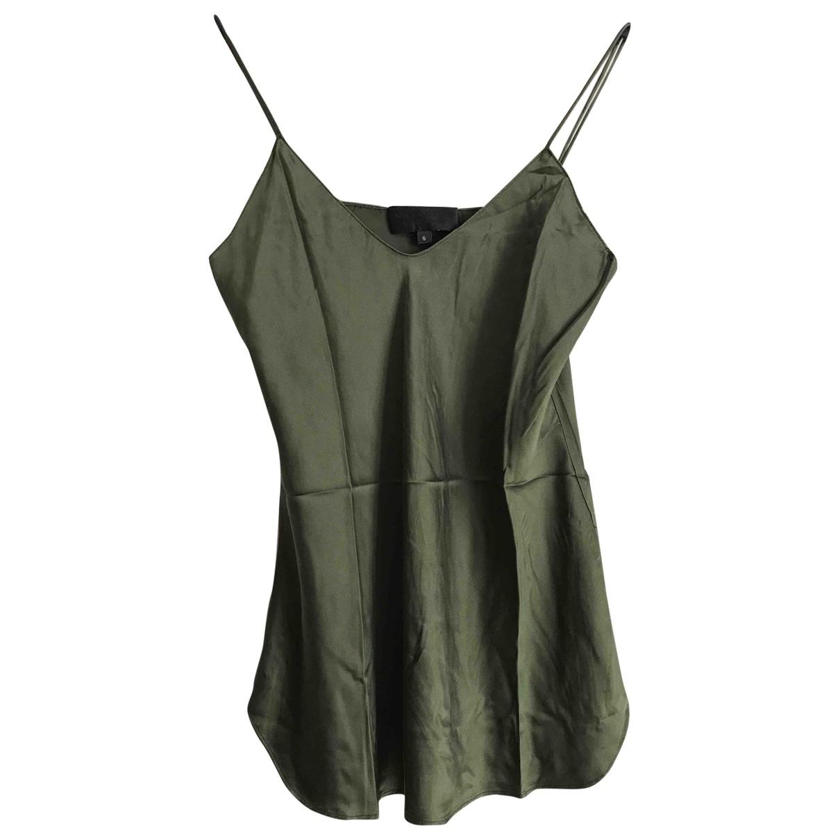 Nili Lotan \N Green Silk  top for Women S International