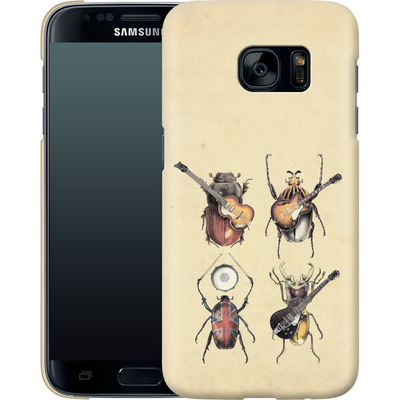Samsung Galaxy S7 Smartphone Huelle - Meet The Beetles von Eric Fan