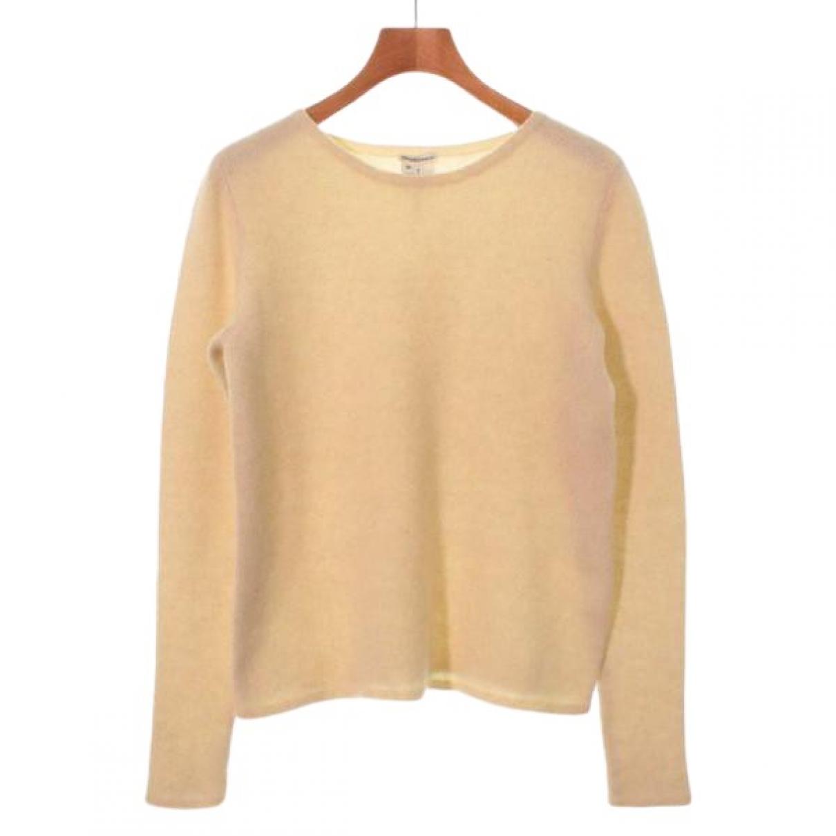 Hermes - Pull   pour femme en cachemire - beige